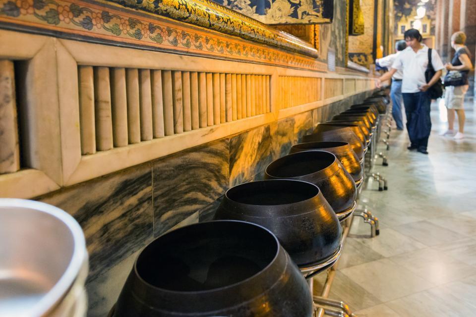Il Buddha disteso , Bangkok , Thaïlande