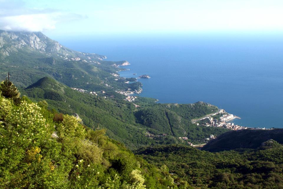 La côte Adriatique , Monténégro