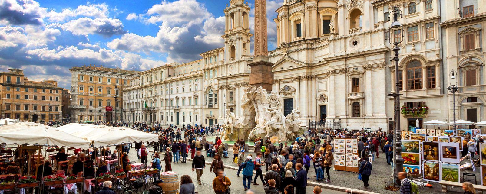 ROMA , Piazza Navona , Italia