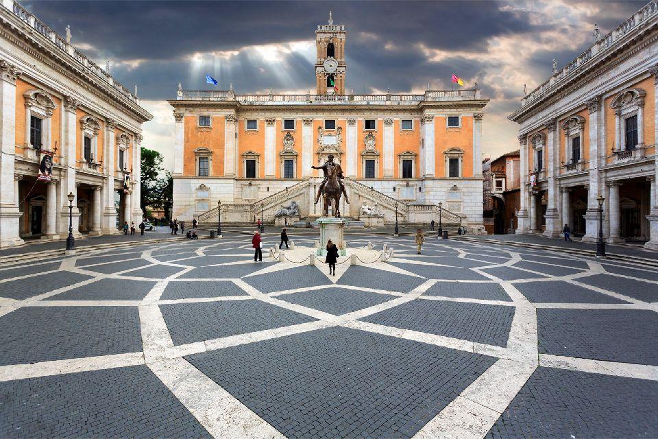 Il Campidoglio , Roma , Italia