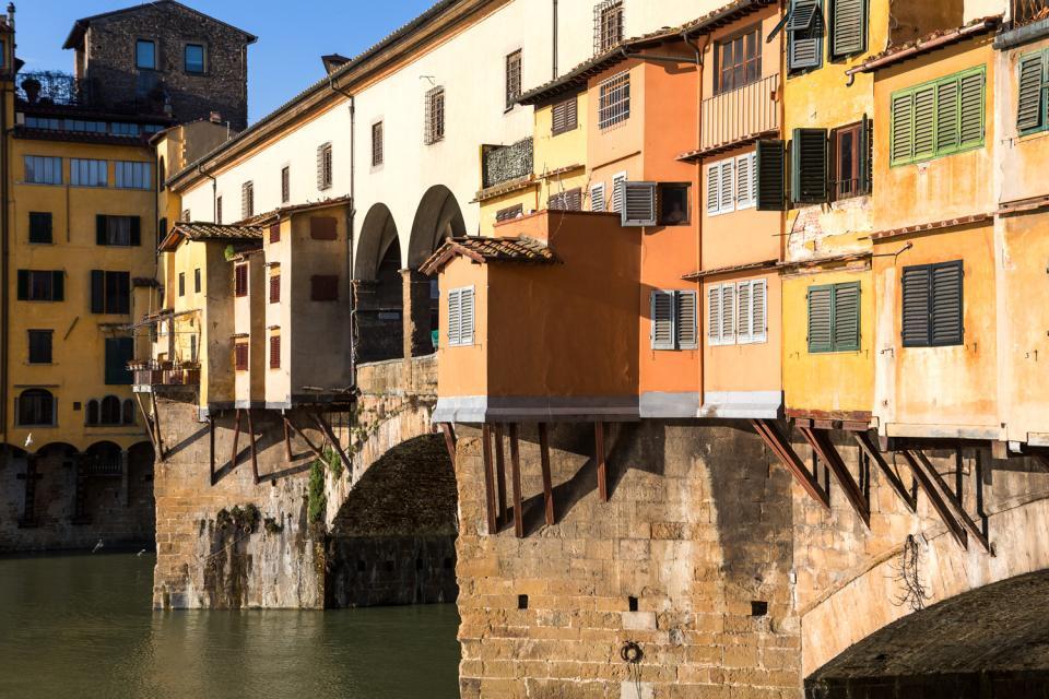 Il Ponte Vecchio , Italie