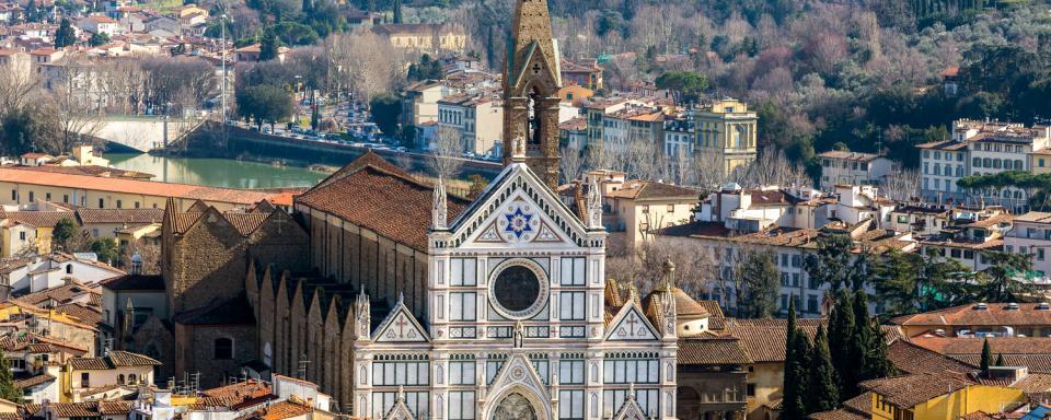 Santa Croce Firenze Toscana Italia