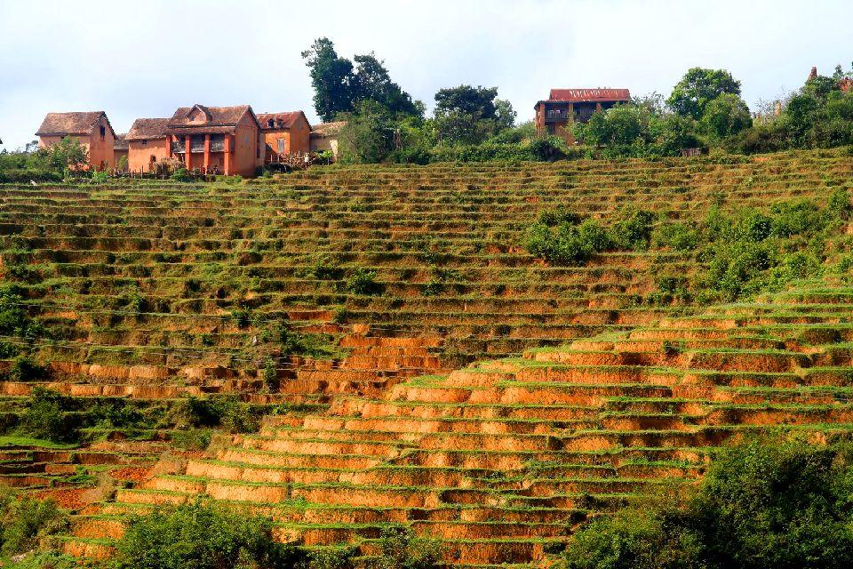 La Route du Sud , Cultures et paysages , Madagascar