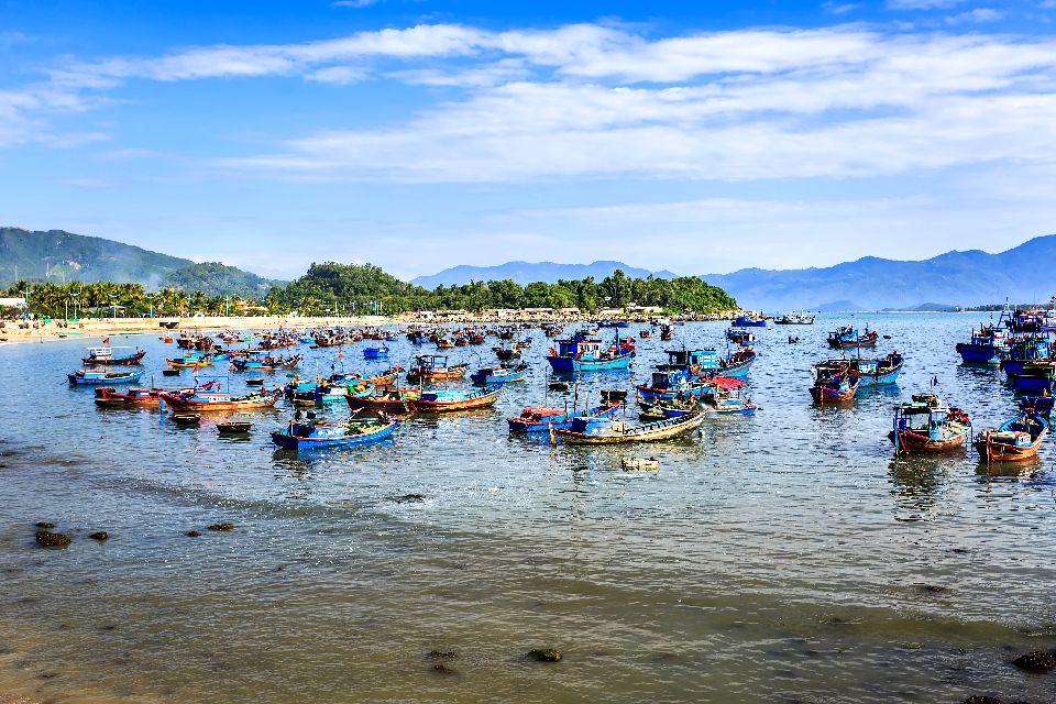 La baie de Nha Trang , Vietnam