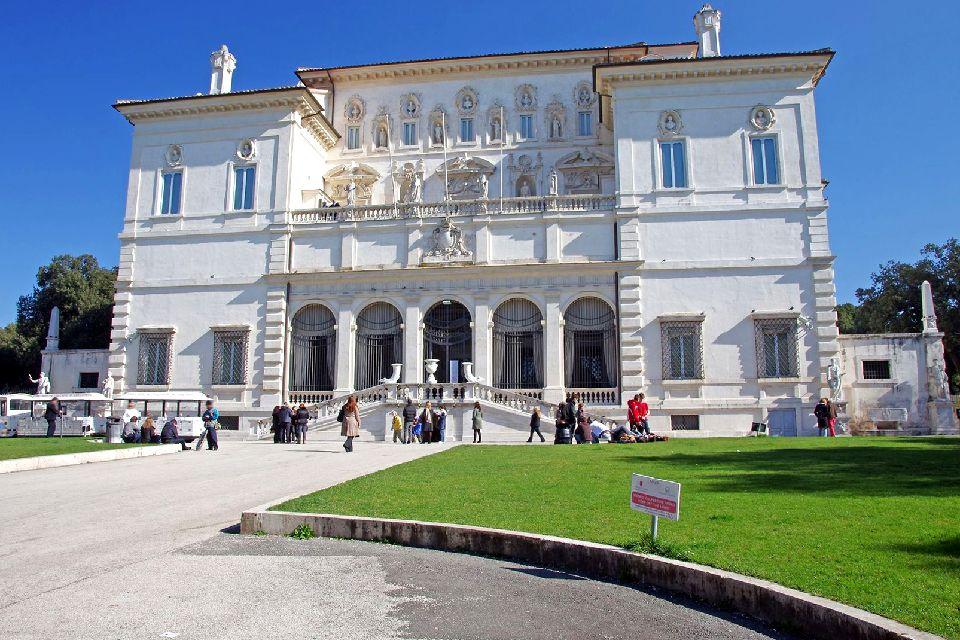La galerie Borghèse , Italie
