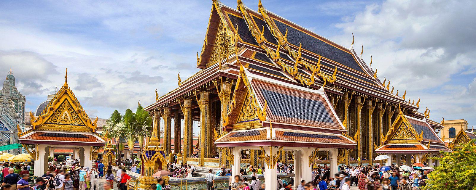 Il wat Phra Kaew, Wat Phra Kaew - Bangkok, I monumenti, Thailandia