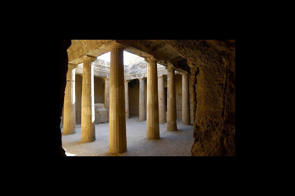 Il sito archeologico di Kourion, Le Tombe dei Re a Paphos, Cipro