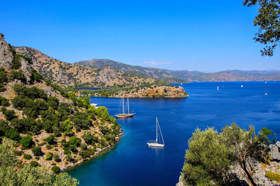 Les côtes, Marmaris, Fethiye, Oludeniz, turquie, Asie, mer, méditerranée, égée