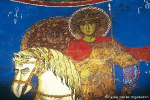 Les églises peintes du Troodos , Une église byzantine , Chypre
