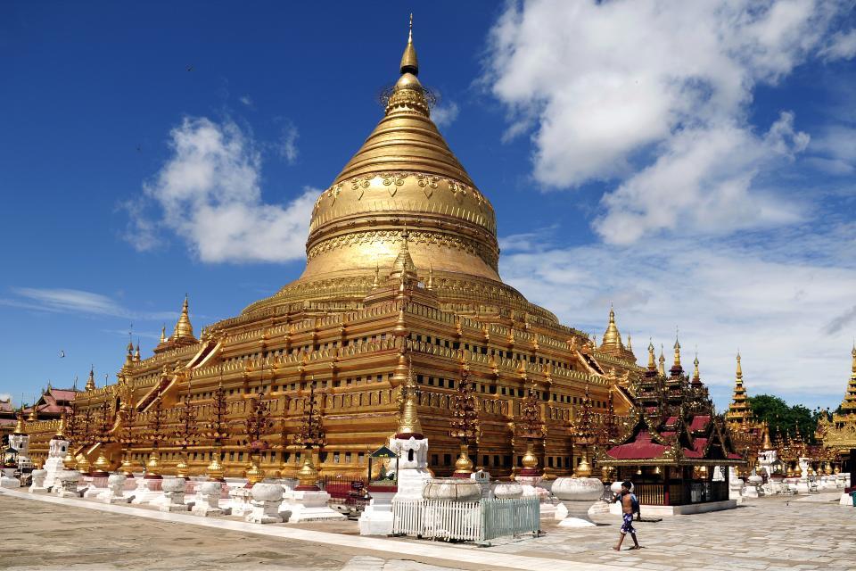 Les temples de Bagan , Birmanie , Myanmar