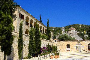 The Kykko monastery , The monastery of Ayios Neophytos , Cyprus