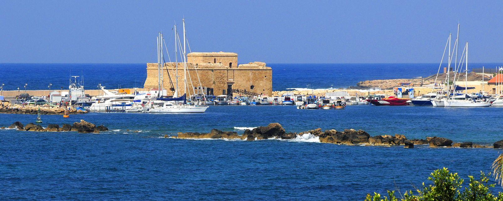 Le fort médiéval de Pafos , Le fort Ottoman de Pafos , Chypre