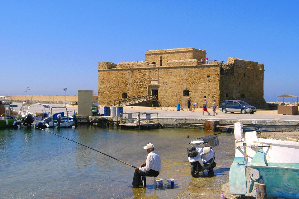 The Medieval Fort of Pafos , The Ottoman fort of Paphos , Cyprus