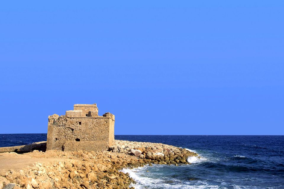 The Medieval Fort of Pafos , A stroll around the fort , Cyprus