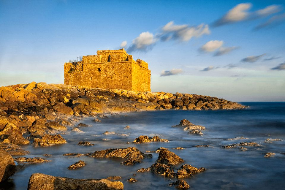 The Medieval Fort of Pafos , Cyprus