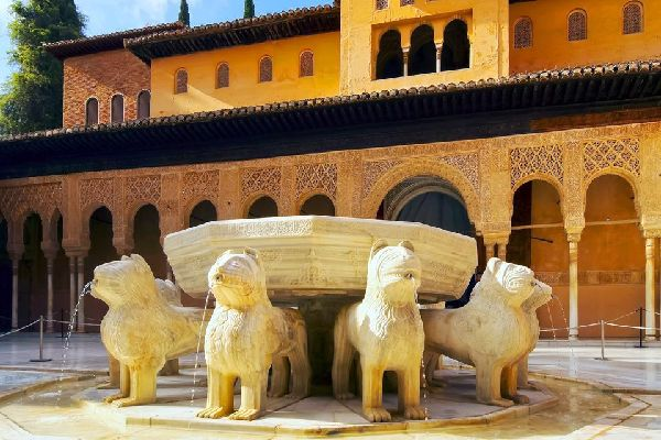 Los Palacios Nazaríes , España
