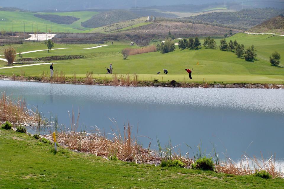 Golf , Sa situation stratégique , Espagne