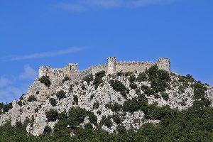 Le château de Puilaurens , France