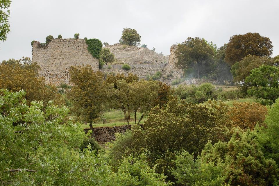 Le château de Termes , Francia