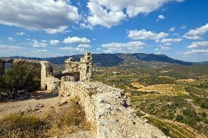 Le château d'Aguilar , France