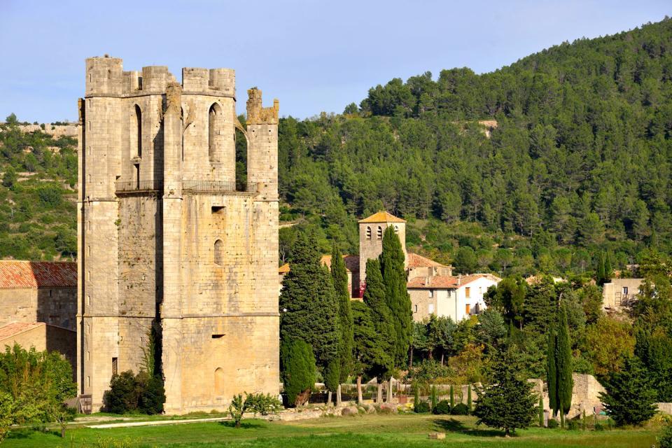 Abbaye de Lagrasse , Francia