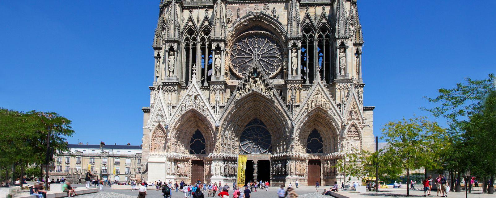 Cathédrale Notre Dame de Reims, Les monuments, Champagne-Ardenne