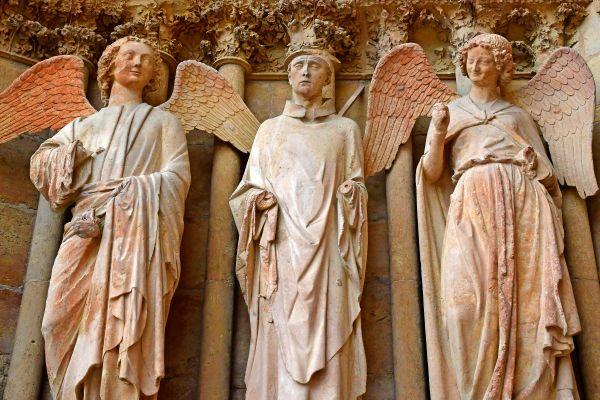 , Cathédrale Notre Dame de Reims, Los monumentos, Champagne-Ardenne