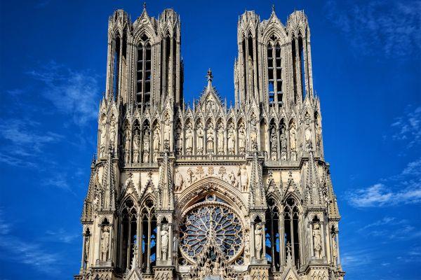 Cathédrale Notre Dame de Reims, Los monumentos, Champagne-Ardenne