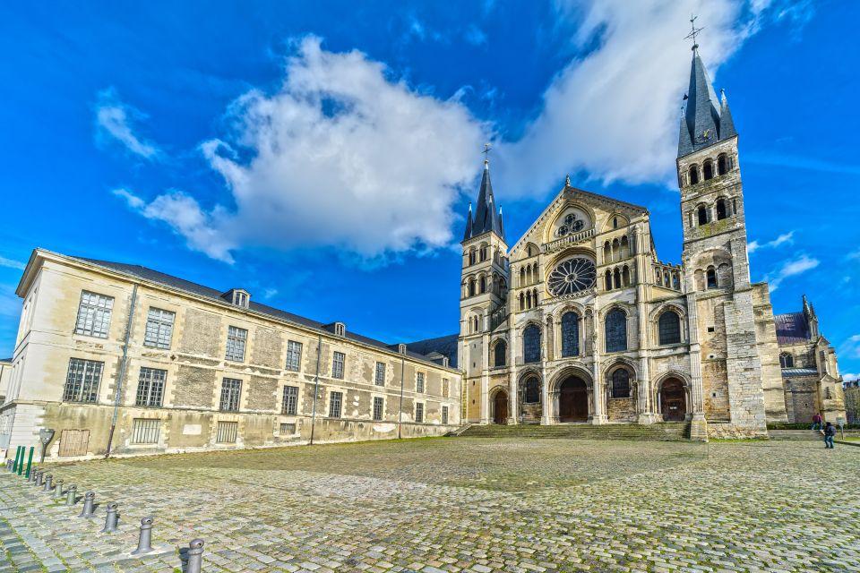, Basilique Saint Rémi, Los monumentos, Champagne-Ardenne