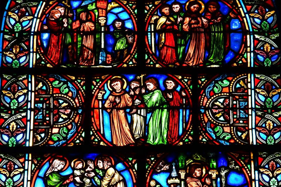 Basilique Saint Rémi, Los monumentos, Champagne-Ardenne