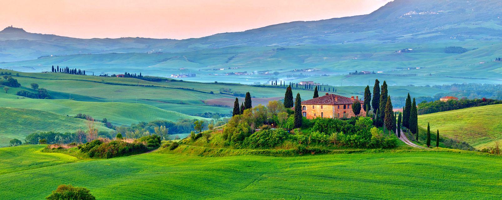 Val D Orcia Tuscany Italy