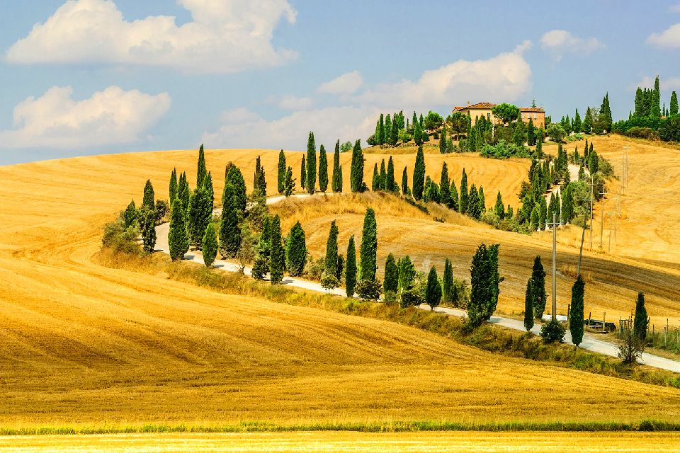 Val d'Orcia , Italy