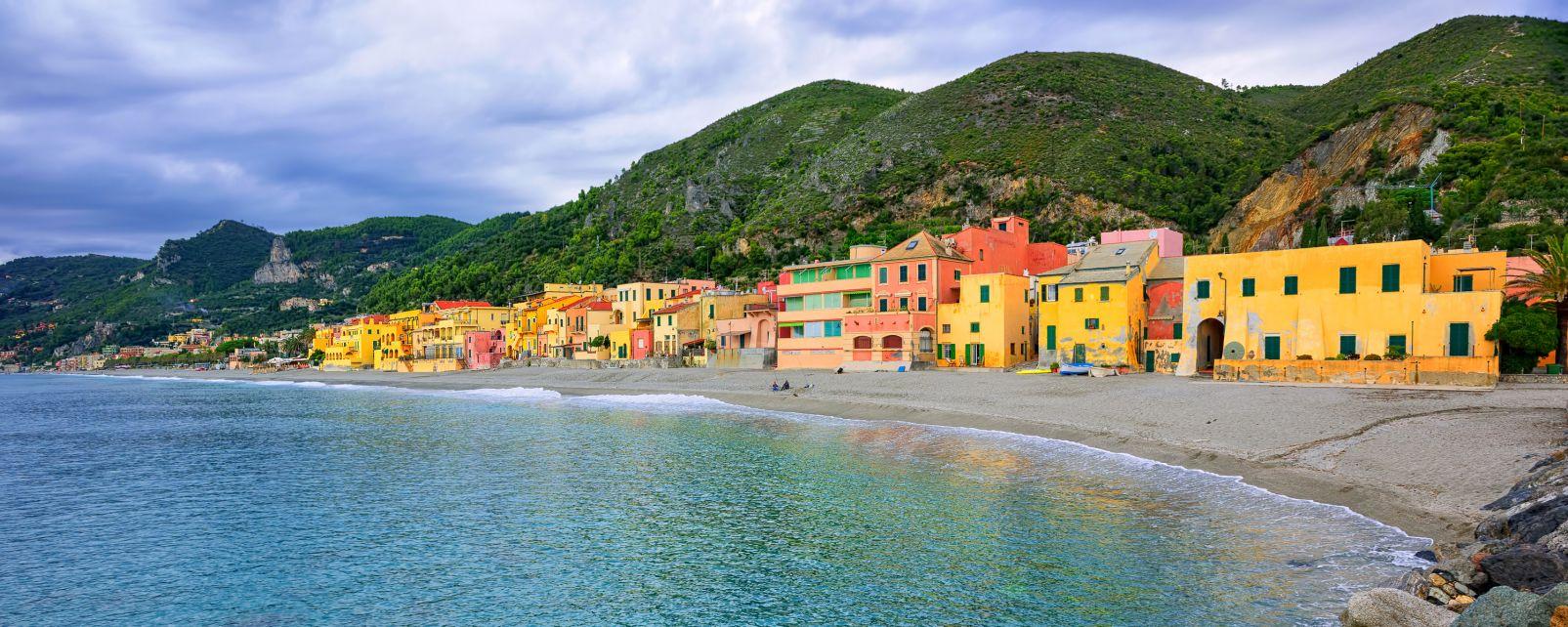 Les côtes, saracen, toscane, italie, plage, côte, europe