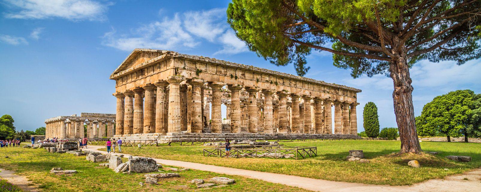 Temples of Paestum , Italy