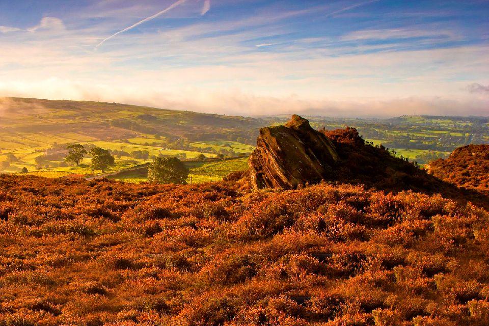 The Peak District Angleterre Royaume Uni
