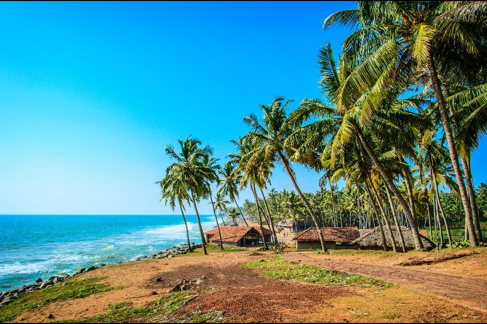 Varkala Beach , India