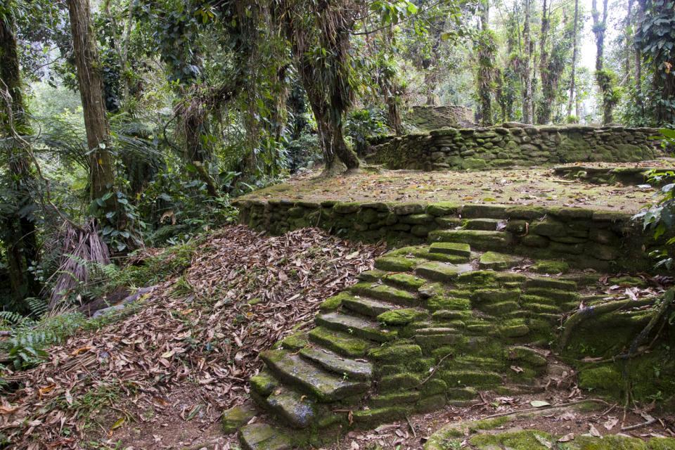 La località di Ciudad Perdida , Colombia