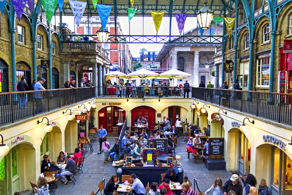 Covent Garden , Royaume-Uni