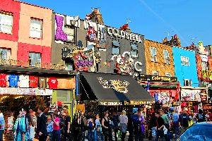 Camden Market, London , United Kingdom