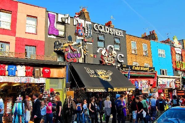 Camden Market, London , United Kingdom