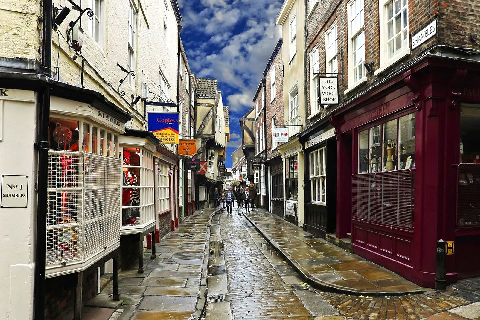 The Shambles, York , United Kingdom
