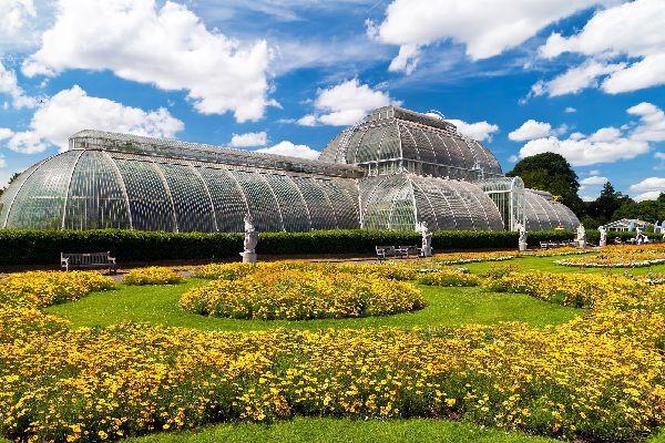 Jardins royaux de Kew , La serre Palm House , Royaume-Uni