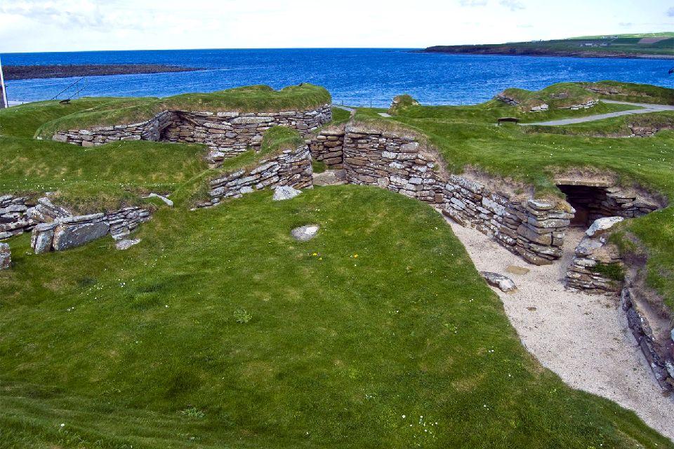 Skara Brae, Neolithic Orkney , Royaume-Uni