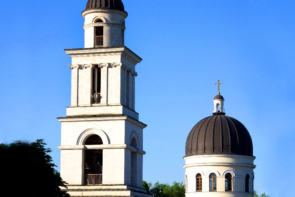 The Monuments of Chisinau , Moldavie