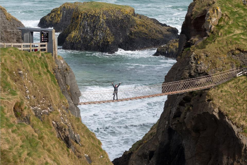 Carrick-a-Rede rope bridge , Royaume-Uni