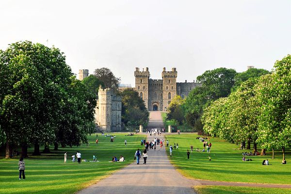 Windsor Castle , Royaume-Uni