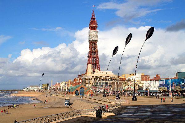 Blackpool Tower , Royaume-Uni