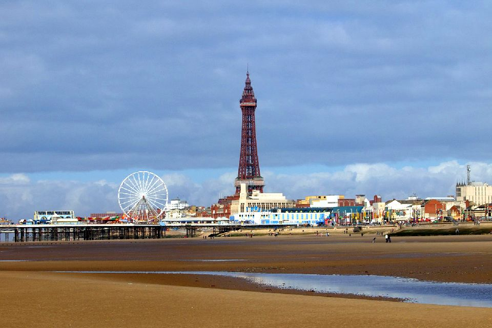 Blackpool Tower , Royaume-Uni