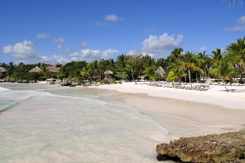 La plage de Caleton , République dominicaine