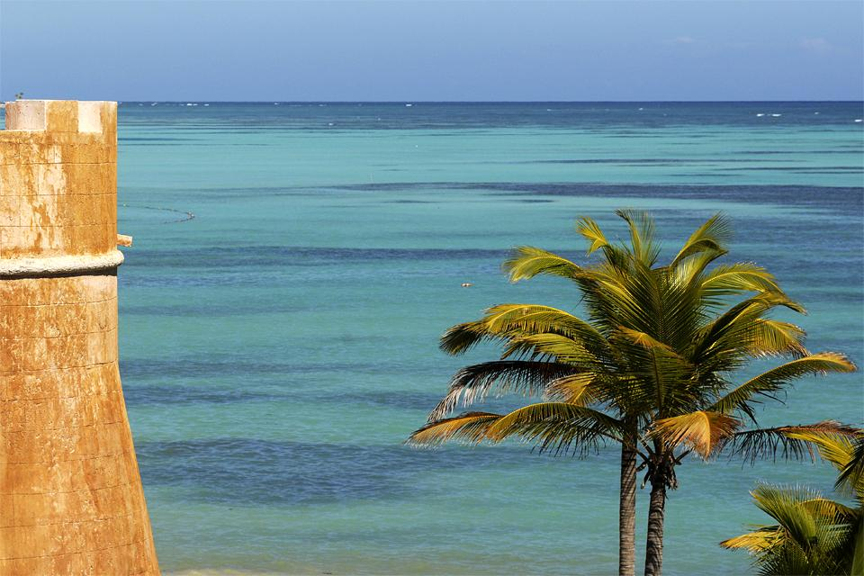 La plage de Juanillo à Cap Cana , République dominicaine